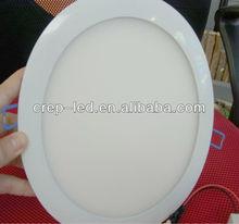 flat round panel 270mm trim size 260 hole size led thin downlight cut out ac110v 120v 130v