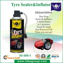 Tyre Sealer & Inflator (Sellador de Neumaticos y Inflador)Bonus pack