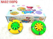 6PCS Plastic top toys nice color big top