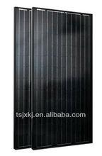 250w solar panel black