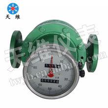 Digital Oval Gear Flow Meter/Crude oil/High temperature&viscosity Flow Meter