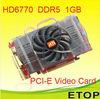 HD6770 DDR5 memory ATI PCI-E graphic card