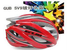 Fibra de vidro / capacete de fibra de carbono para bicicletas / bicicleta capacete