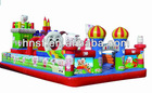 Outdoor inflatable bouncer, jumping castle, commercial inflatables for sale