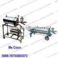 Horizontal automática kieselguhr filtro para vino 0086-18703683073