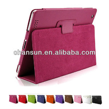 2013 hot selling Pu leather case for ipad mini,many colors