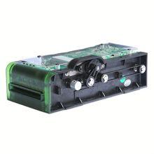 Motorized lo-co magnetic card reader msr