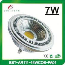 3 years warranty 7W 10w ar111 gu10 led recessed light COB Lamp