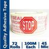 Bopp Self Adhesive Packing Printed Tape