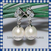 2012 9-10mm AAA drop jewelry new style earrings