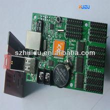 ethernet port led diplay contrl card E3 128x1024,ethernet port,7 colors