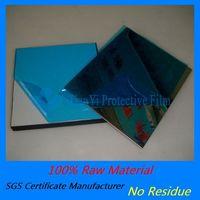 PE anti scratch adhesive single x blue film