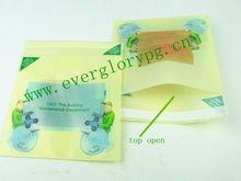 Mini colored plastic mailing pouches