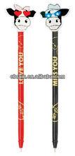 cute cartoon top pen for kids,large sale promotional pen