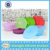 Food grade folding microwave safe silicone bowls