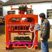 (good quality,cheap 2013)QT4-40 manual fly ash brick making machine price