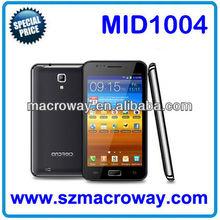 "MID1004: 5"" MTK6575 dual-core CPU 1.5GHz+ 512/4GB + GPS + Bluetooth + FM radio + GSM+ 3G + Dual SIM Standby cheap tablet pc"
