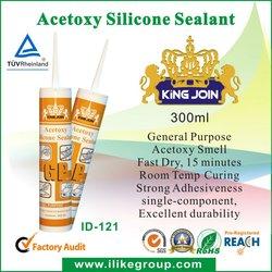 Acetic Silicone Sealant ( TUV certificate )sample is free,la muestra es de gratis