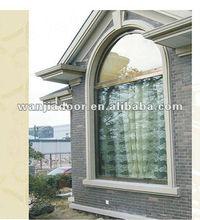 Wanjia decorative aluminum fixed windows for homes