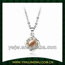 2013 fashion tapioca pearls pendant necklace jewelry