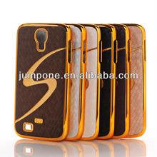S- Line Luxury Designer Leather Chrome Hard Back Case For Samsung Galaxy S4 i9500