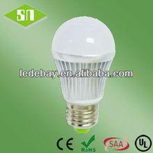 5W 7W 10W CE ROHS UL SAA E27 Bulb e27 socket adapter