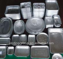 Embalagem folha de alumínio alimentar