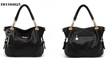 High quality leather lady bag with chain handle