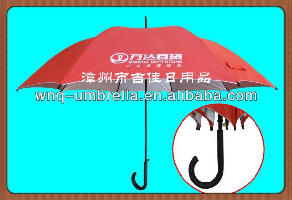 Wdj-27uv 27 pollici protezione uv agganciato j ombrello manico