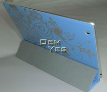 Ultra Slim Smart Cover Printing PU Stand Case For iPad 2 iPad 3