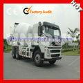 Alta calidad bajo precio jefe 10m3 hino camión mezclador