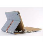 Luxury Retro Business Style Flip Leather Case Cover for iPad 2 New iPad 3 KSH207