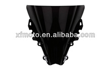 Motorcycle Windscreen Windshield For Yamaha YZF R1 2009 2010 2011 Black