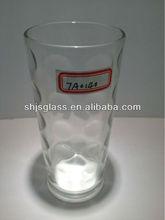 factory high bright glass cup circle dot
