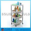 Zapatos de plástico del molde plataforma, estante de hortalizas molde, accesorios de cocina organizador