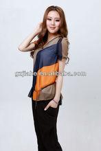 new lady blouses fashionable djh0019