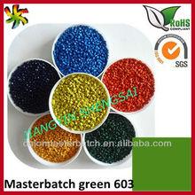 Green Masterbatch 603 artificial turf