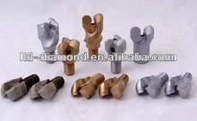 M16*1.5 M16*1.2 efficience pdc anchor drill bits /two or three wings well drilling bits