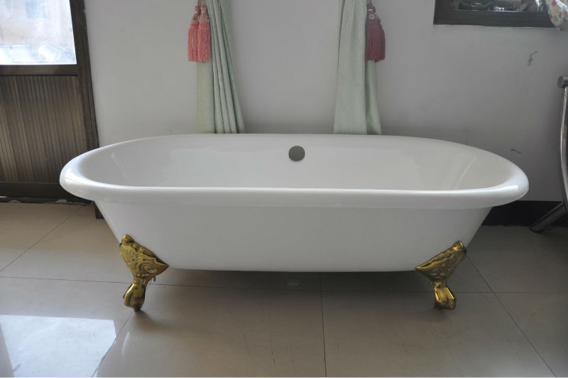 2013 Small dog bathtub with imperial feet
