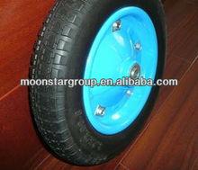 rubber wheel wheel barrow solid rubber wheel