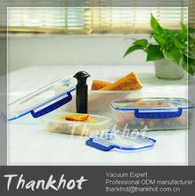 House helper Vacuum-Sealing Food-Storage Container ,Set of 3