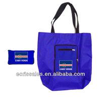 CABO VERDE FLAG foldable Football Shopping Bags