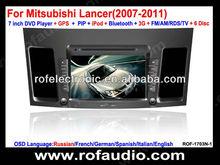 car DVD player navigation for Mitsubishi Lancer car