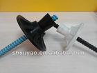 High Strength Fiberglass Material FRP Glass Fiber Dome Plate Conical Nut Anchor Bolt