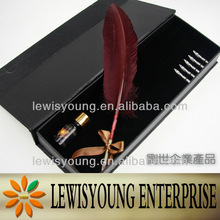 New arrival feather craft business gift items