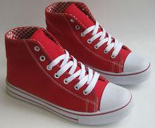 Man Red Fashion Design China Canvas Shoe