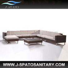 Contemporary Garden Furniture Fashion Rattan Sofa