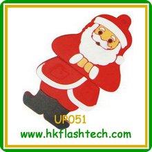 Christmas gift usb flash drive ,2/4/8gb santa clause shape usb pendrive