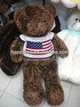 Hola las ventas caliente& de alta calidad suave juguetes de piel de tela de peluche juguetes
