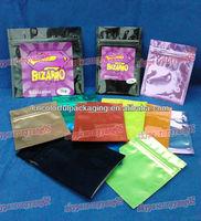 zencense herbal incense bags/bizarro zencense bags/zenbio bizarro bags